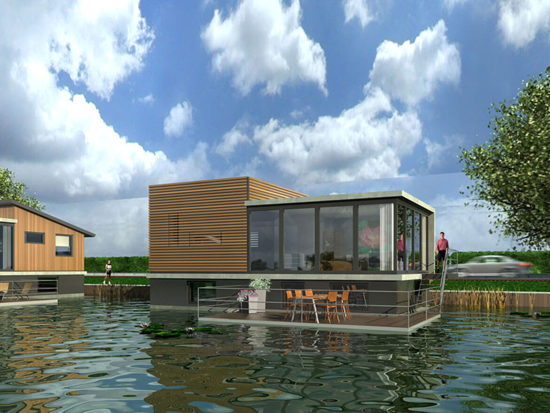 Succesvol ontwikkelen van waterwoonwijk waterstudio