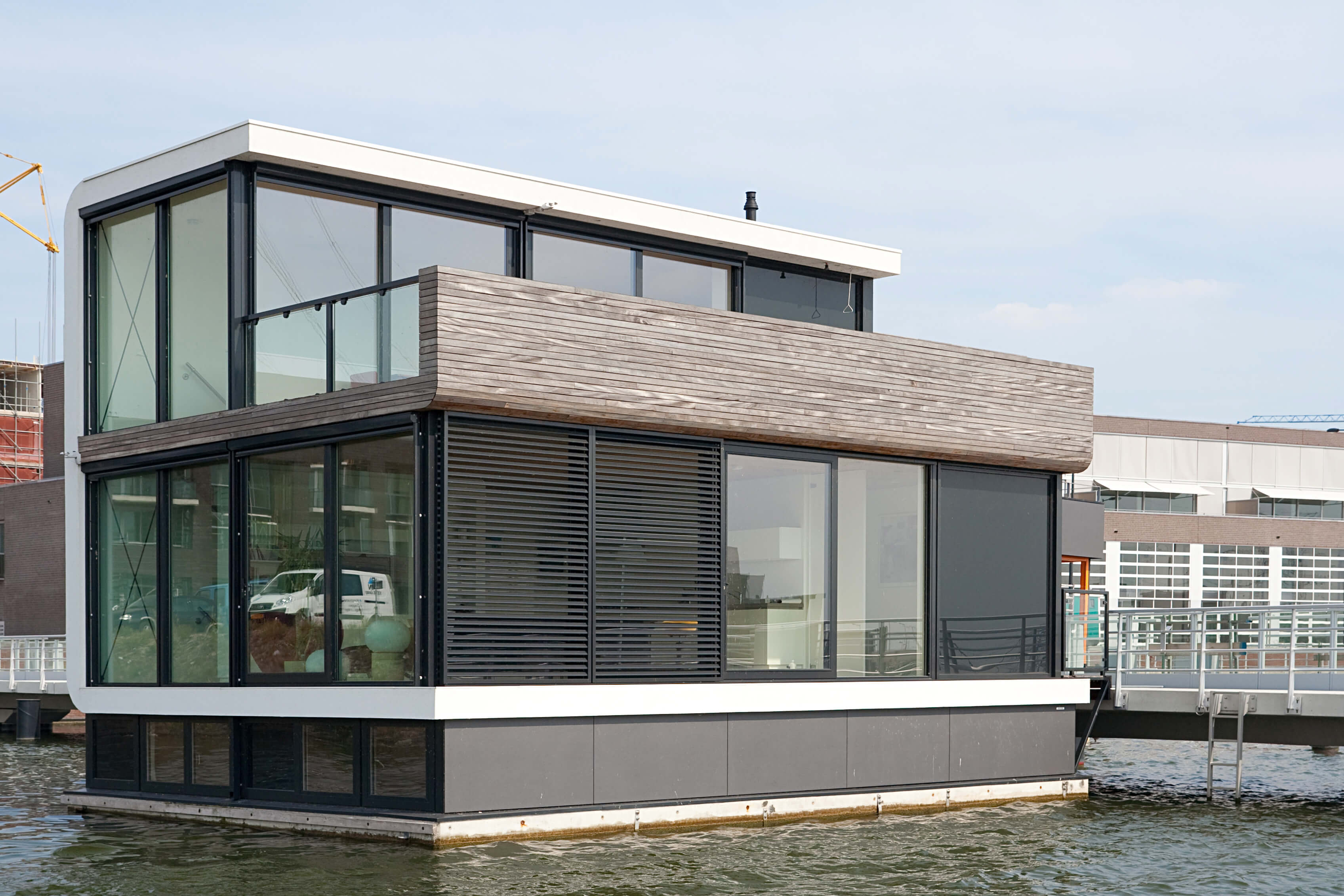 Watervilla For IJburg Amsterdam