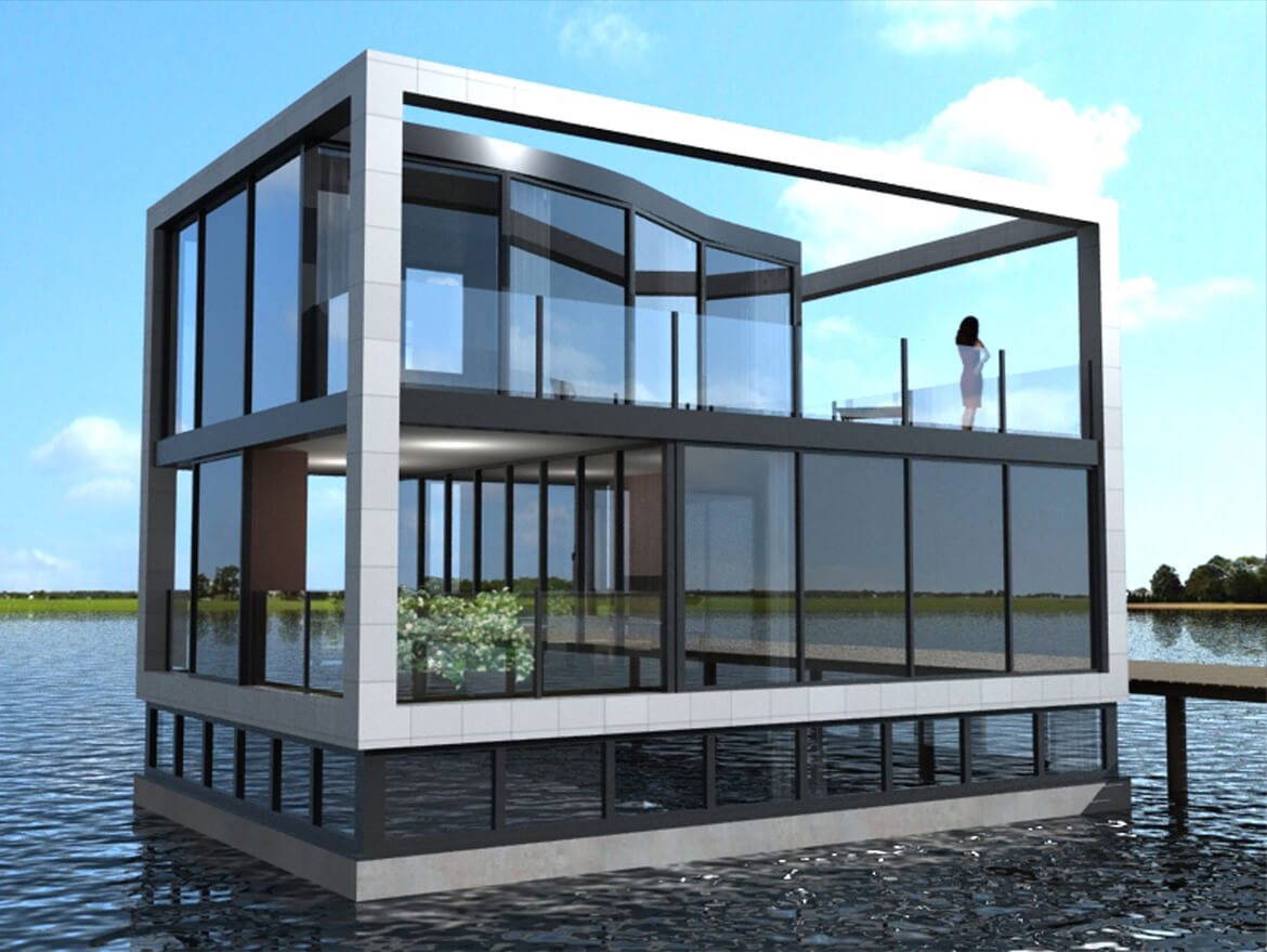 watervilla ijburg 2  amsterdam  the netherlands