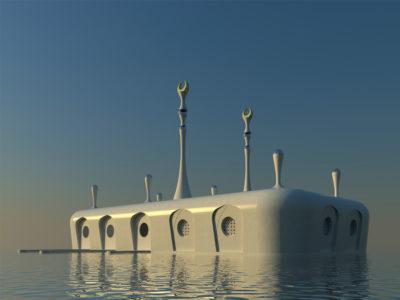 Floating Mosque, United Arab Emirates