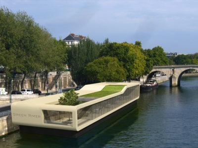 Floating Restaurant Paris, France