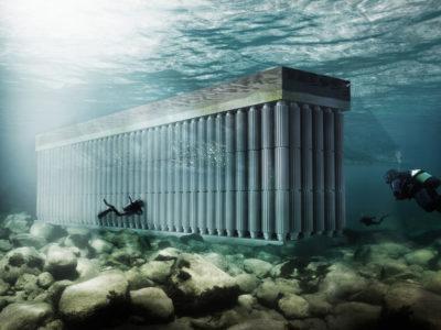 Parthenon, The Floating Sea Wall