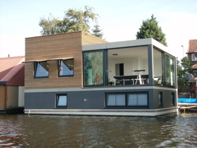 Water Dwelling Lubeek, Amsterdam, The Netherlands