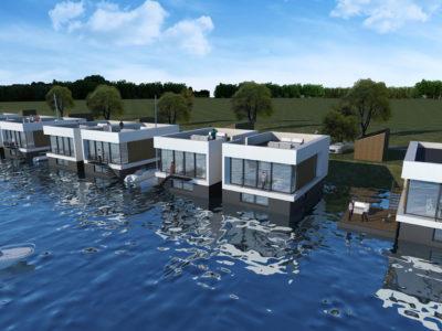 Floating Villas, Zeewolde