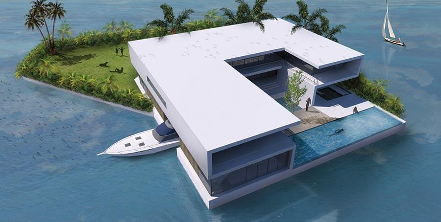 Continuing education floating buildings waterstudio for Building a floating home