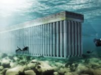 Parthenon, The Floating Sea Wall