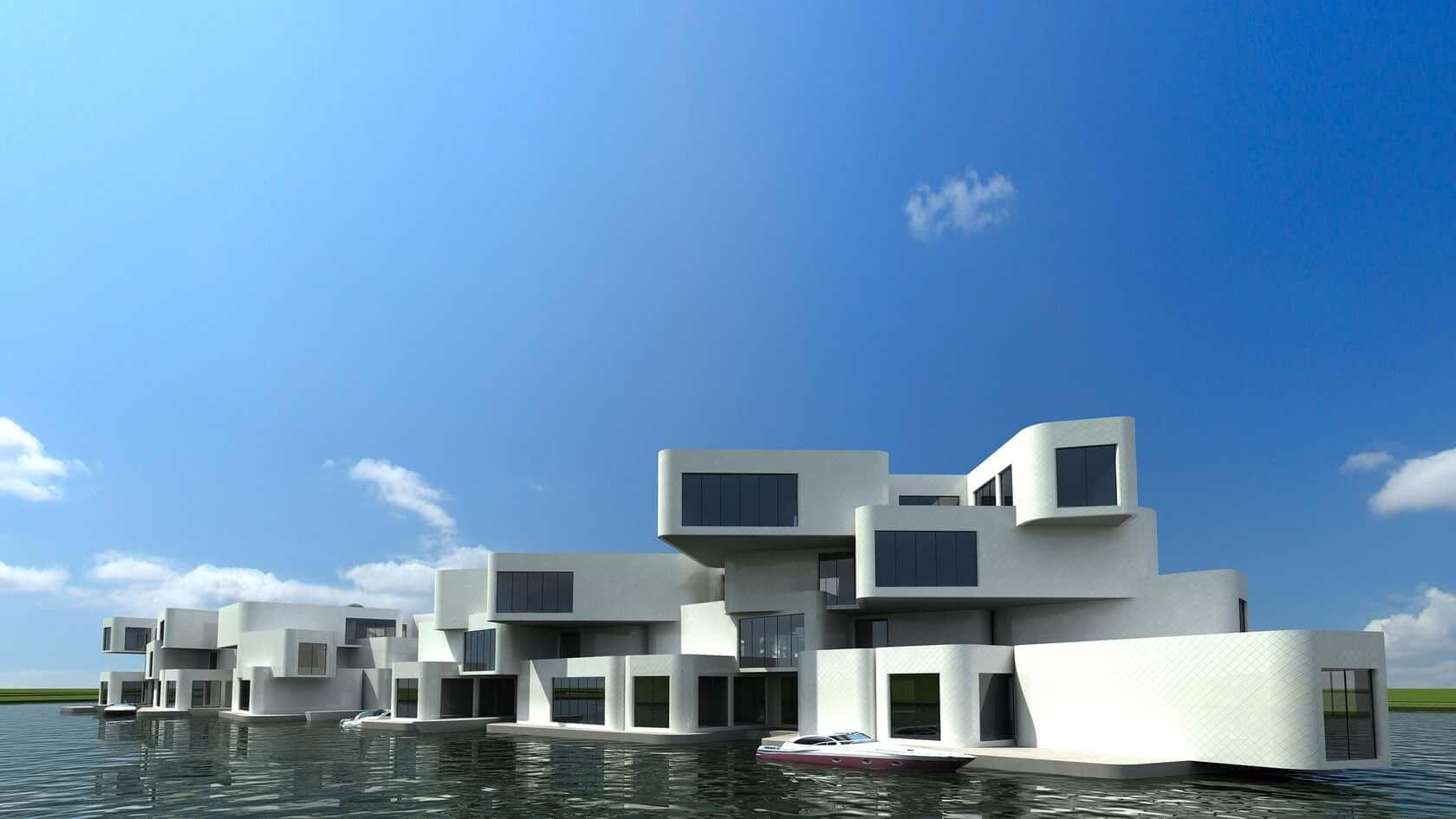 Eerste Drijvende Appartementencomplex