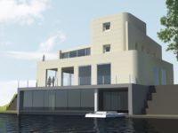 Waterstudios Villa Traverse Is Near Completion