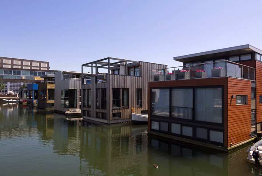 Are The Floating Houses Of The Netherlands A Solution