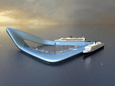 Floating Cruiseterminal