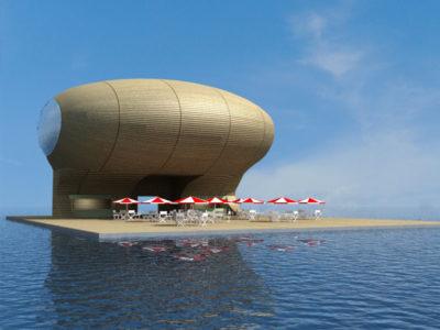 Floating Clubhouse, Palm Jebel Ali, Dubai