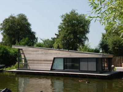 Waterchalets Jisp, The Netherlands