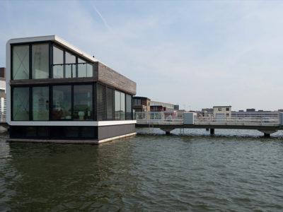 Watervilla IJburg, Amsterdam, The Netherlands