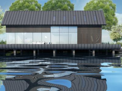 Floating Recreational Home, Braassemermeer