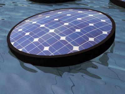 Floating Solar Blanket Field