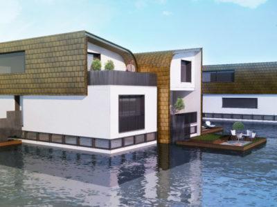 Uitsende Oranjewijk, Floating Urban Development