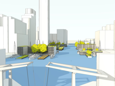 Floating City Expansion Millwall Dock