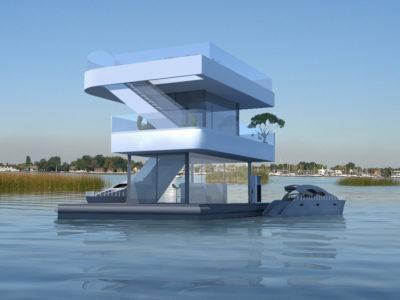 Floating Gasstation