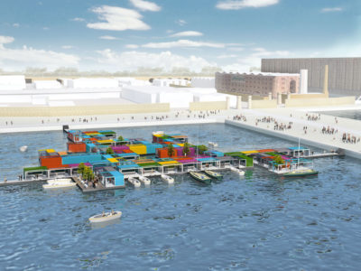 Floating Pop-up City, Liverpool