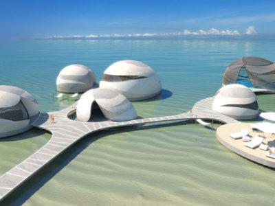 Floating Spa, Caribbean