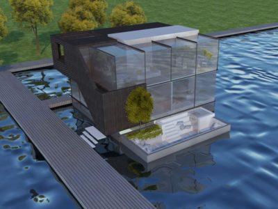 Floating Villa K.18 Schoonschip