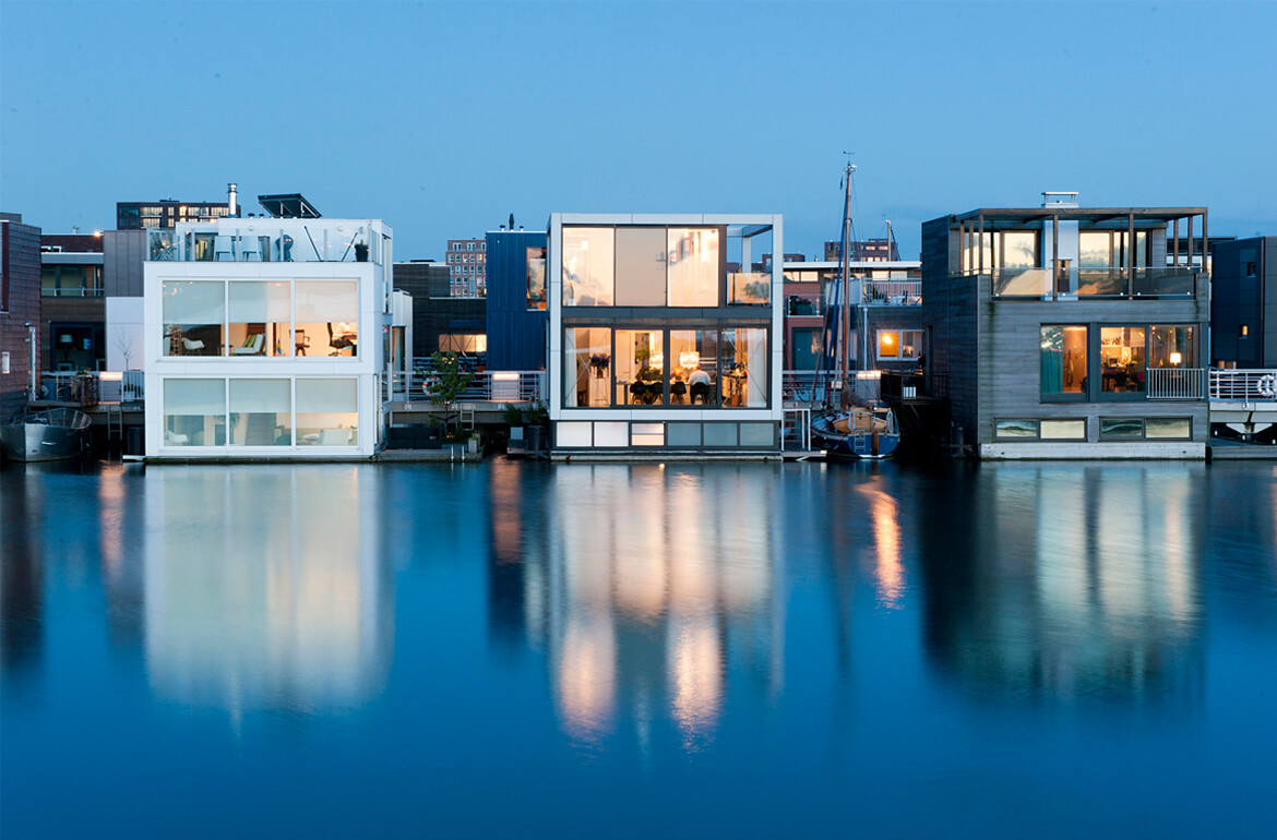 "Waterstudio Published In ""Floating Houses- Living Over The Water"""