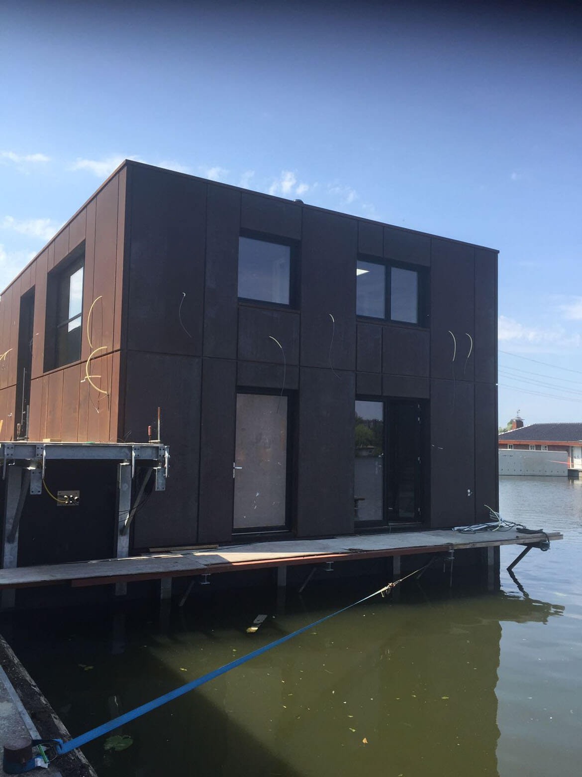Construction In Progress Watervilla Dordrecht