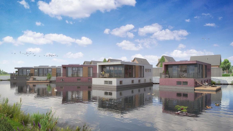 Nu In De Verkoop: 7 Royale Drijvende Watervilla's In Urk