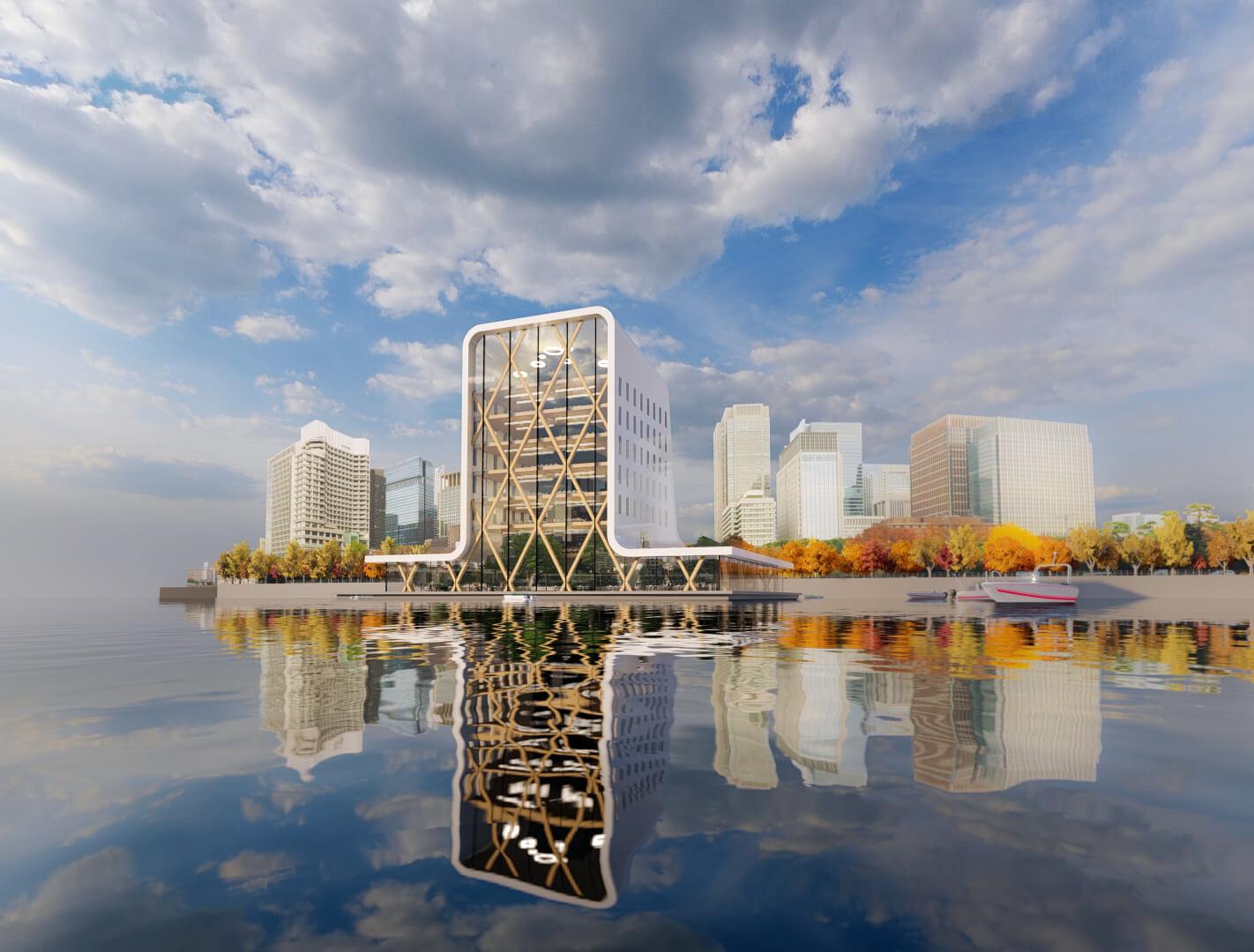 Waterstudio.nl - Floating office