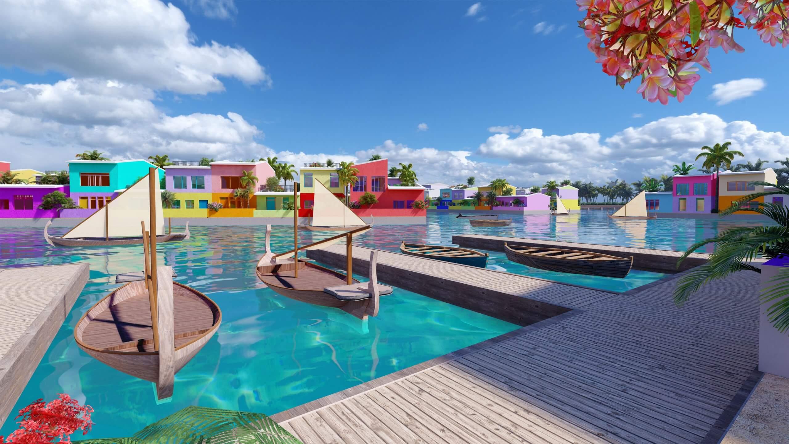 Waterstudio - Maldives Floating City